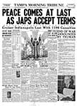 Tampa Morning Tribune - 08-15-1945