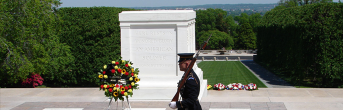 Respect for the Unknown Soldier
