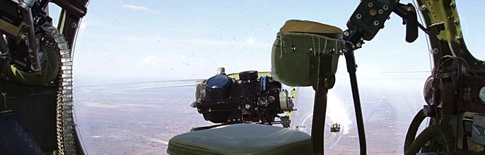 B-17 Bombardier View