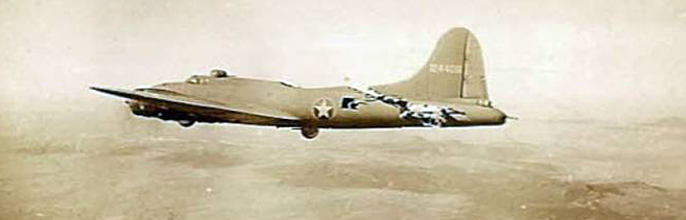 97th BG 414th BS B-17 Mid-Air
