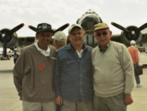(from left) A. Edward Wilen, Sid Katz and Herbert Weber